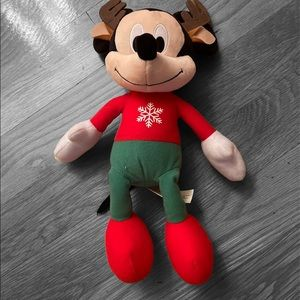 mickey mouse™ christmas plush toy 11in